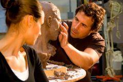 sculpting Athena's portrait - Copy