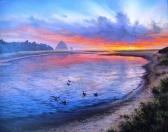 Ecola Creek Sunset_Phil Smith